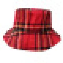 Chapéu de balde com tecido de verificador (BT068)