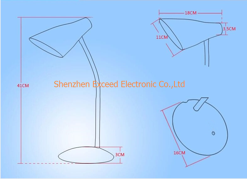Removable Bulb LED Table Light
