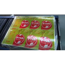 Printed laminated electrolytic tinplate
