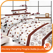 Hot sale embroidery bed cover fabric designs for home textile