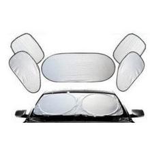 Sombrillas de coche de engrosamiento de verano plateadas, sombrillas UV de aislamiento de protección solar al por mayor