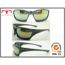 Fashion and Handsome Men′s Sports Plastic Sunglasses (2868RV)