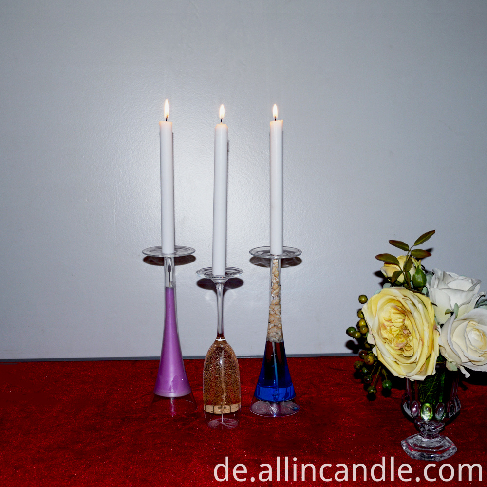 20cm white candle