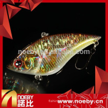 2015 new fish tackles vibration led hard fishing bait lure