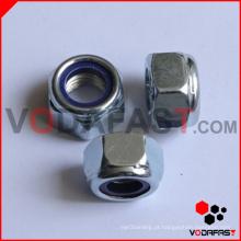 DIN 982 Porca de bloqueio de inserção de nylon grossa hexagonal