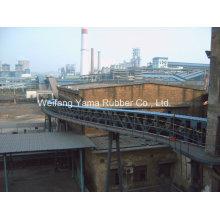 Cinta transportadora de tubería usada para la minería del carbón