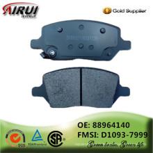 Plaquettes de freins à disques non amiante qualité OE du fabricant chinois (OE: 88964140 FMSI: D1093-7999)