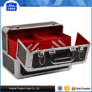 Top sale cheap price hot factory directly makeup case with light and mirror