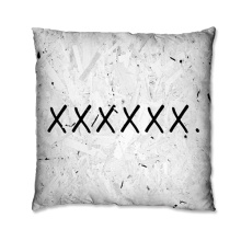 Black X design Cushion