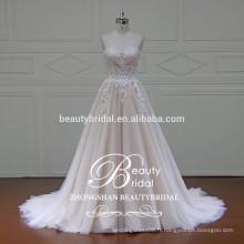 XFM042 dernières robes de mariage, robes de mariée en marbrure 2016