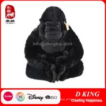 Melhor Qualidade Stuffed Animal Gorilla Plush Toy