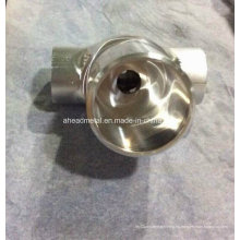 CNC mecanizado de piezas hechas de aleación de aluminio para equipos de comunicación