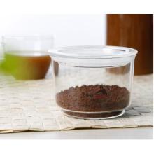 Herstellung von Glasbecher mit Deckel für Lebensmittel