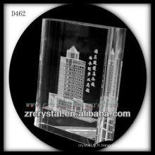 K9 3D Laser Image à l'intérieur du livre de cristal