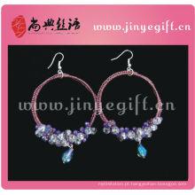 Clipe de joias culturais ShangDian em brincos de fecho