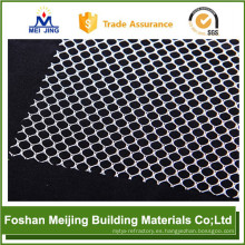 2017 new white color plastic mosaic mesh manufacturer