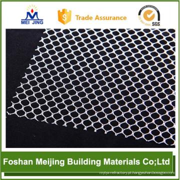 2017 novo fabricante de malha de mosaico de plástico de cor branca