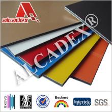 Colorful Decorative Wall Cladding PE Coating Aluminium Composite Panel