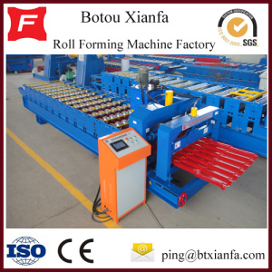 Steel Standard Roof Glazed Tile Roll Forming Machine