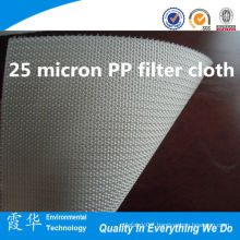 25 micron PP filter cloth for liquid filter bag