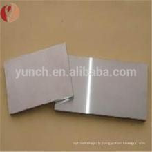 Plaque de tungstène pure de haute qualité 99.95 W1 à vendre