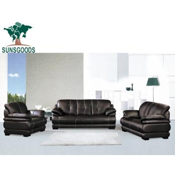 Low Price Genuine Leather Sofa America Modern Sofa Set