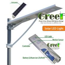 8W 15W 25W Energia Solar LED Lâmpada de rua para Outerdoor