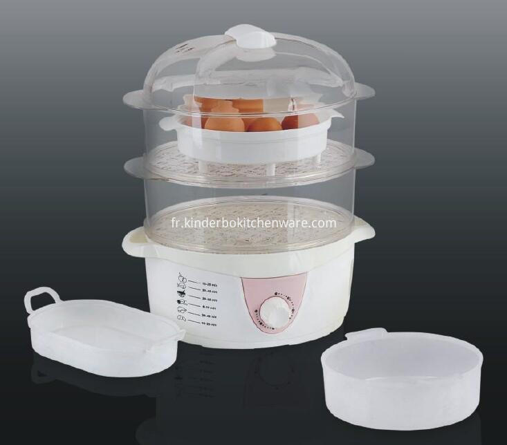 2-tier food steamer