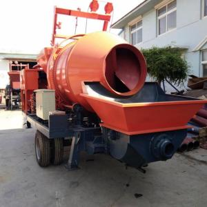 Electric  Concrete Mixer Truck With Pump