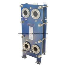 Intercambiador de calor de placas para enfriar agua a agua