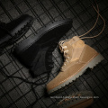 military army boots for men high heel