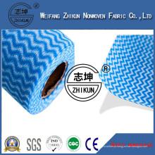 Tecido não tecido de Spunlace para toalhetes