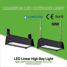 luz linear conduzida 5 anos de lúmen alto da garantia ip66 50w