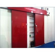 Электрический раздвижная дверь используется для холодной комнаты