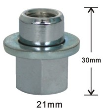 30mm acorn with washer lug nuts