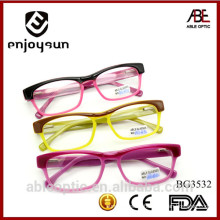 HOTSELLING milky color fashion students acetate hand made spectacles optical frames eyewear eyeglasses