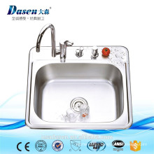 DS 6356 bathroom stainless steel kitchen single bowl small dimension 20 gauge sink on sale
