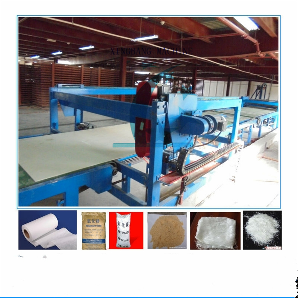 High Automatic Glass Magnesium Board Production Line Xingbang