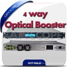 Amplificador óptico de la fibra / amplificador de la fibra de CATV 1550nm