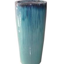 Большие застекленные кашпо садовые цветочные горшки керамический горшок