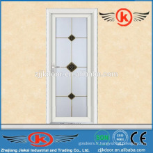 JK-AW9001 porte de verre en aluminium de salle de bain