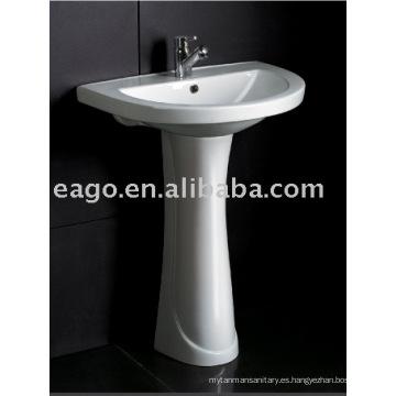 Lavabo del pedestal de cerámica del cuarto de baño (BD329E / ZA3290)