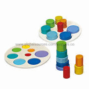 2013 educational wooden geometric building blocks for kids, with cheap and lowest price, non-toxic