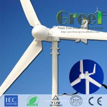 Turbina de viento pequeña 2kw con generador de imán permanente