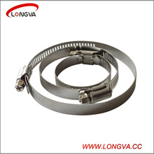 Stainless Steel American Type Pipe Clamps