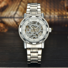OEM Skeleton custom watches men in stock