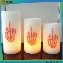 Real Wax Colorful LED Candle Light for Decoration