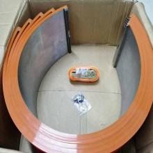 Крышки наковальни с вращающимся вырезом для картонной коробки