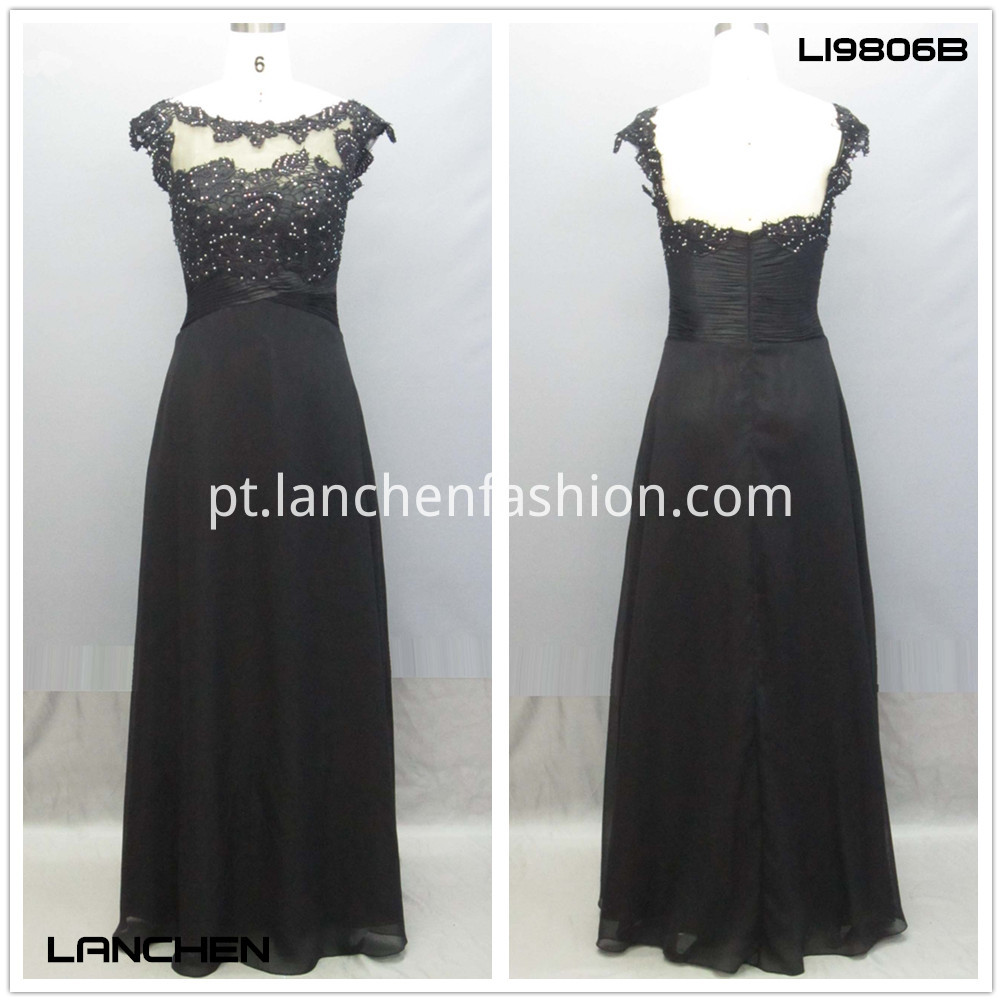 Length Long Gown Dress