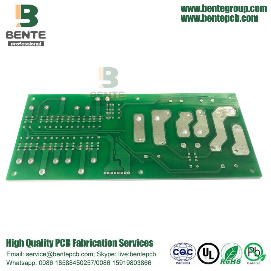 Sample HASL LF Quickturn PCB Uit Shenzhen